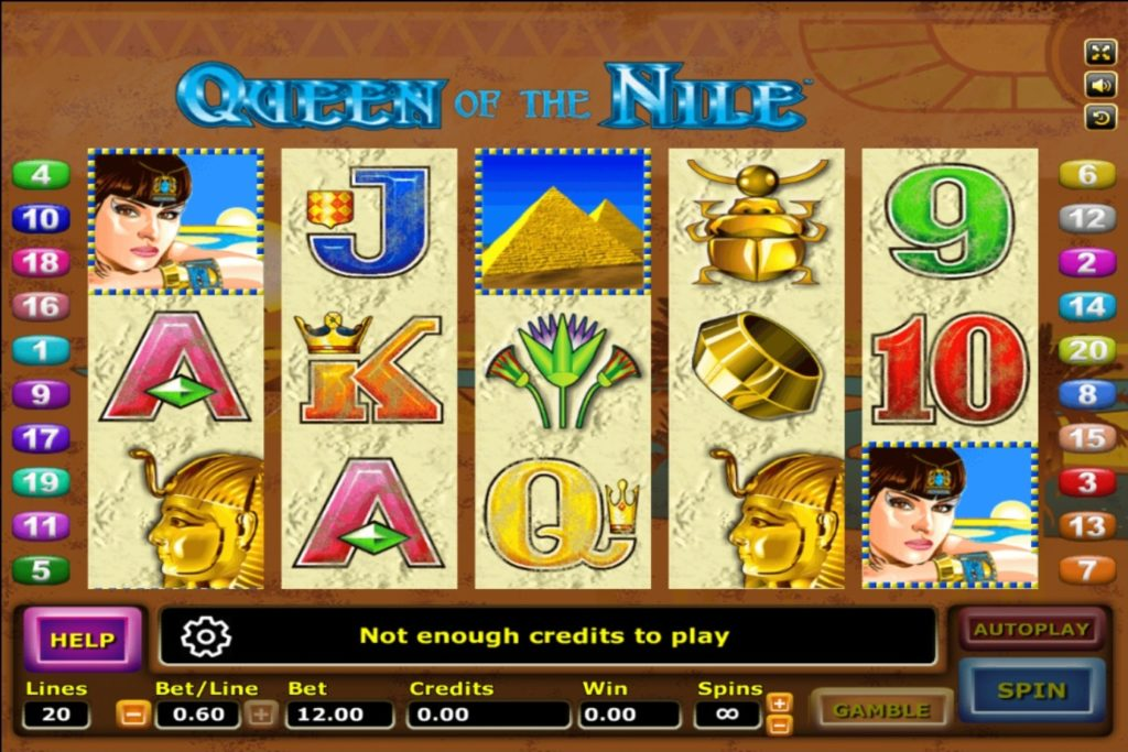 Queen Of The Nile สล็อตออนไลน์